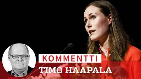 Sdp piti puoluekokouksensa Tampereella Sanna Marinin johdolla pari viikkoa sitten. Sen jälkeen puolueen kannatus on laskenut kahdella prosenttiyksiköllä, vaikka puolue on yhä suurin.