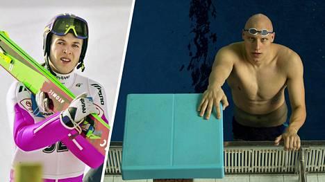 Entinen mäkihyppääjä Vesa Hakala auttoi huippu-uimari Matti Mattssonia löytämään harjoittelupaikan, kun koronavirusuhka sulki urheilupaikkoja.