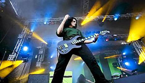 Type O Negative esiintyi Sauna Open Airissa Tampereella kesällä 2007. Bändin keulahahmo Peter Steele kuoli keskiviikkona.