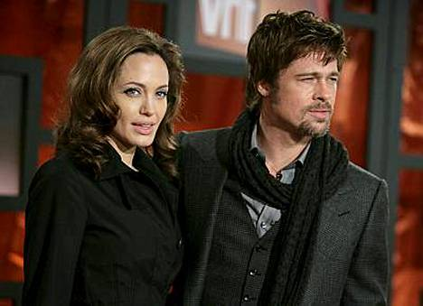 Angelina Joliella ja Brad Pittilla on jo neljä lasta.