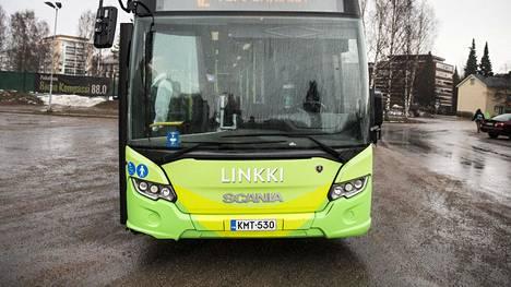 Jyväskylän seudun joukkoliikenteen Linkin bussinkuljettaja teki uroteon.
