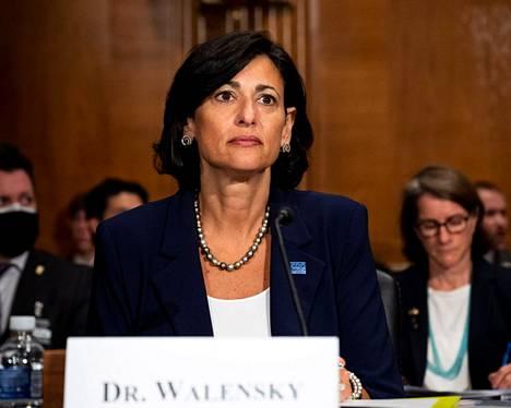 Rochelle P. Walensky johtaa Yhdysvaltojen Tartuntatautivirastoa.