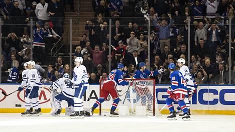 Rangers löi kotonaan Toronton.