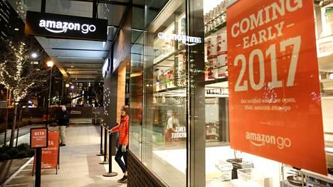 Amazon Go -kauppa on jo ollut Seattlessa auki testiasiakkaille.