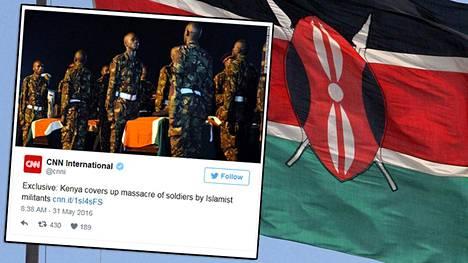Useita kenialaissotilaita sai surmansa 15. tammikuuta El Addessa.
