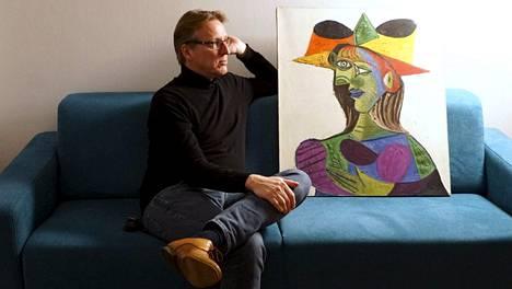 Pysyvästi kadonneeksi luultu Pablo Picasson maalaus (kuvassa) löytyi neljä vuotta kestäneen tutkinnan jälkeen.