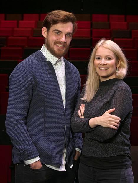Lauri Tilkanen ja Pamela Tola menivät naimisiin syksyllä 2015.