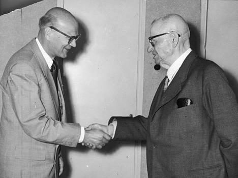 Kekkonen ja Paasikivi olivat suomalaisen politiikan voimakaksikko yli vuosikymmenen.