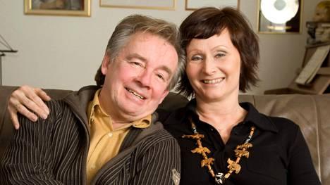 Teppo ja Varpu Ruohonen vuonna 2008.