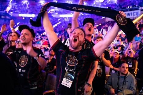 Fanit kannustivat ENCEä raivoisasti helmi-maaliskuun vaihteessa Puolassa pelatussa Major-turnauksessa.