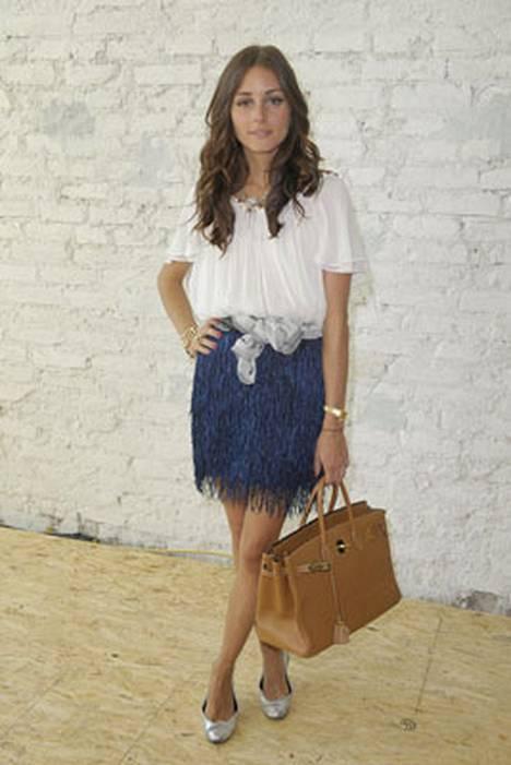 9. Malli-näyttelijä Olivia Palermon tyyli ihastuttaa.