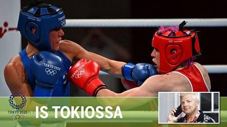 Mira Potkonen eteni 16 parhaan joukkoon olympialaisissa.