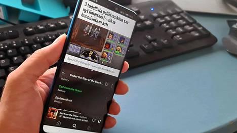 Android mahdollistaa kaksi sovellusta näytölle samanaikaisesti.