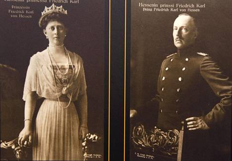 Friedrich Karl ja hänen puolisonsa Margaret.