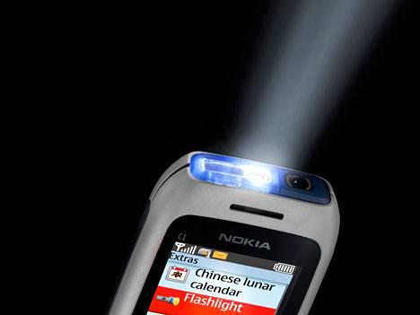 Taskulamppu Nokian malliin.