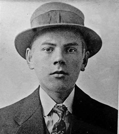 Timpuri Vilho Lylykorpi nuorena ennen kansallissotaa. Hän oli sodan alkaessa 21-vuotias.