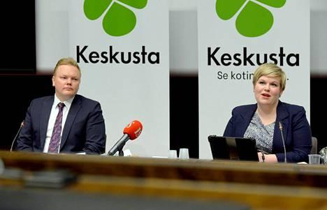Keskustan päivän kierrätys: Antti Kurvisesta tulee uusi tiede- ja kulttuuriministeri, kun Annika Saarikko siirtyy valtiovarainministeriksi Matti Vanhasen jättämälle paikalle.
