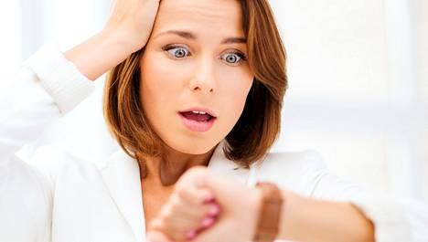 Positiivisen stressin vallassa elimistön fyysinen tila on samanlainen kuin negatiivisessa stressissäkin.