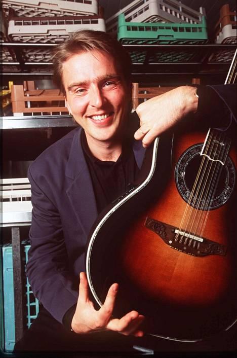 Joel Hallikainen vuonna 1993.