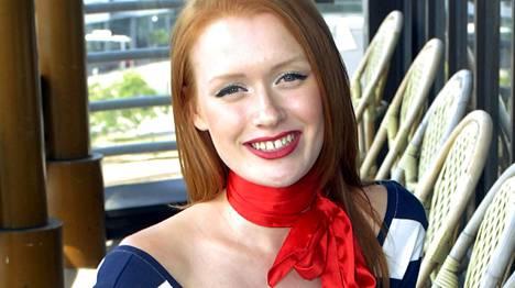 Maria Rytkönen osallistui Huippumalli haussa -ohjelmaan vuonna 2008.
