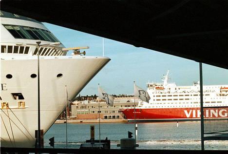 Reissuun lähdettiin maksimissaan laivalle.