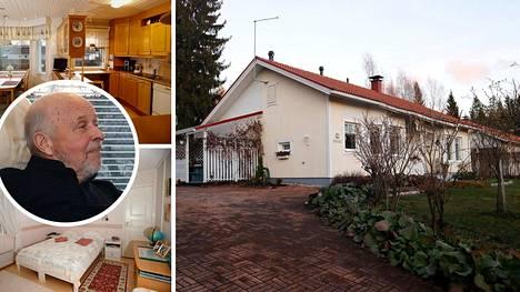 Juhani Hämäläinen ja Silja Rusanen eivät aio alentaa asuntonsa hintaa.