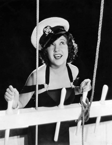 Tony-palkittu näyttelijä ja laulaja Ethel Merman vuonna 1936.