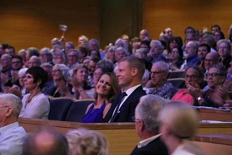 Helena ja Mikko Koivu osallistuivat 100-vuotiasta Suomea juhlistaneeseen tapahtumaan Minneapolisissa syksyllä 2017.