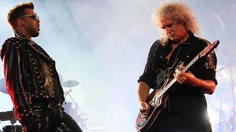 Adam Lambertin ja Brian Mayn kemiat toimivat.
