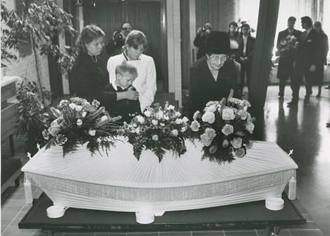 Irwin Goodmanin hautajaiset.