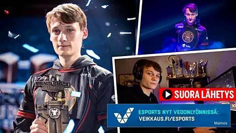 """Joona """"Serral"""" Sotala on StarCraftin tuore maailmanmestari."""