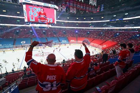 Montrealin Centre Bellissä sai olla paikalla 3500 katsojaa.