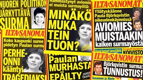 Paula Björkqvistin surma nousi otsikoihin valtavalla volyymilla.