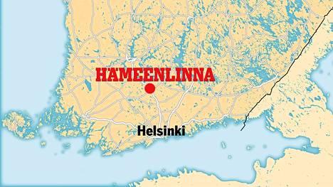 Epäilty teko tapahtui Hämeenlinnassa helmikuussa.
