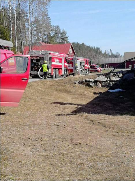 Pelastuslaitos ehti paikalle ajoissa ja onnistui sammuttamaan palon nopeasti