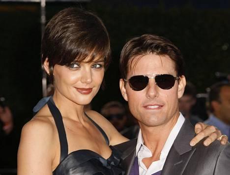 Katie Holmes ja Tom Cruise olivat aikanaan yksi Hollywoodin seuratuimmista tähtipareista.