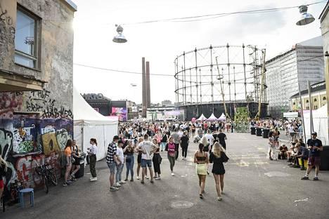 Weekend Festival 2019 Helsingin Suvilahdessa.