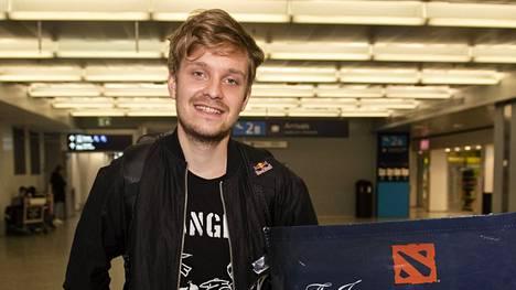 Jesse Vainikka on yksi Dota 2:n kaikkien aikojen menestyneimmistä pelaajista.