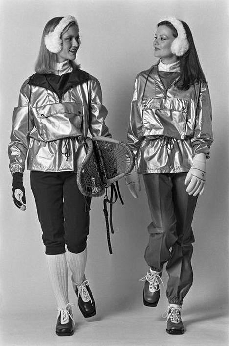 Terinitin vaatteita menneillä vuosikymmenillä.