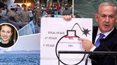 Israel ja Iran käyvät varjosotaa monella eri rintamalla.