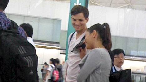 Ashton Kutcher ja Mila Kunis ottivat omaa aikaa ja matkustivat Balille.