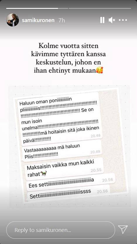Sami Kuronen Instagram
