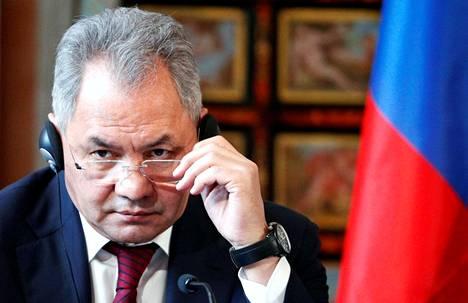 Venäjän puolustusministeri Sergei Shoigu kertoi kuudentoista uuden infektiosairaalan rakentamisesta torstaina.