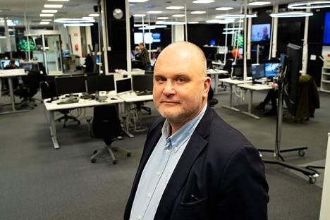 Yleisradion vastaava päätoimittaja Jouko Jokinen.