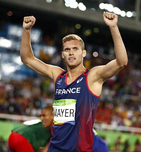 Ranskan Kevin Mayer oli loistoiskussa 10-ottelussa.