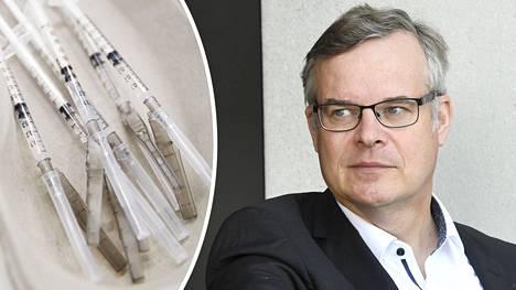 Husin diagnostiikkajohtaja Lasse Lehtonen kommentoi koronarokotekattavuutta ja Suomen tilannetta.