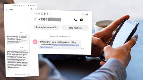 Android-puhelimiin levitetään haittaohjelmaa tekstiviestein, joissa ilmoitetaan vastaajaviestistä.