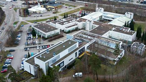 Metropolia-ammattikorkeakoulun kampus Espoon Leppävaarassa.
