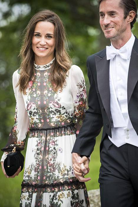 Pippa ja aviomies James.