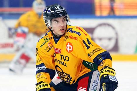 Ville Heinola varattiin NHL:ään ensimmäisellä kierroksella viime kesänä.